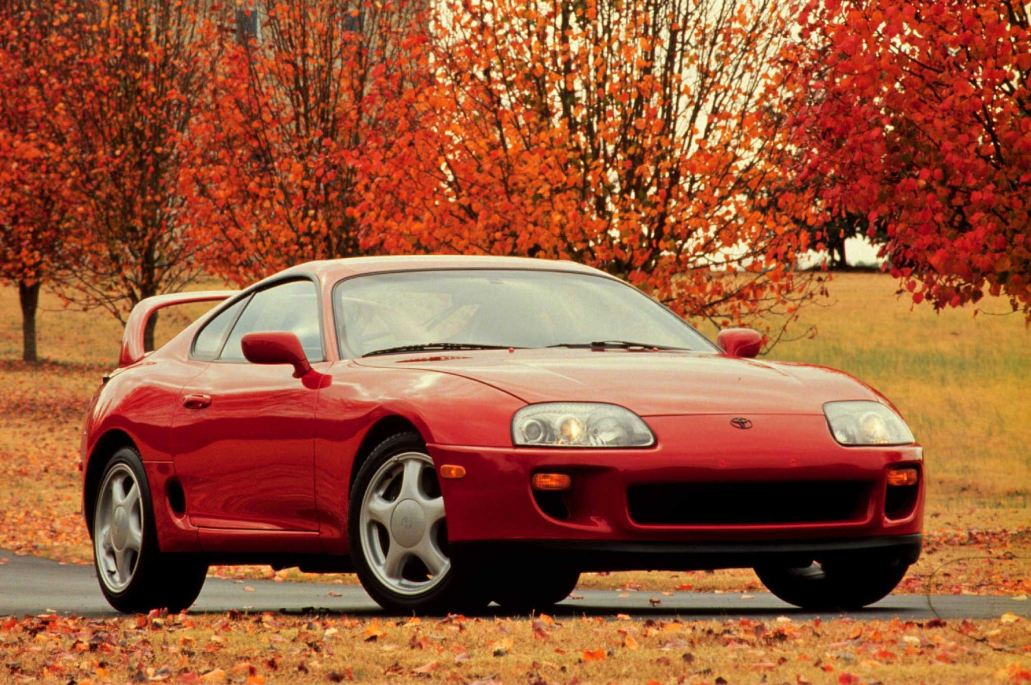 1996 Toyota Supra Turbo Front Three Quarter
