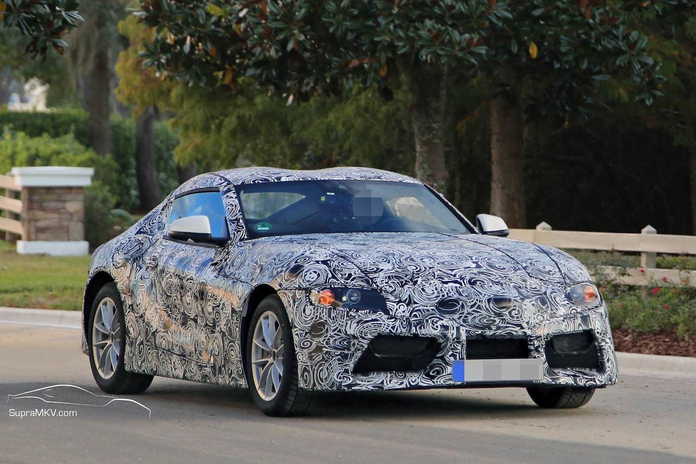 2019 Toyota Supra Prototype Reveals Production Intent Design Parts Supramkv 2019 2020 New