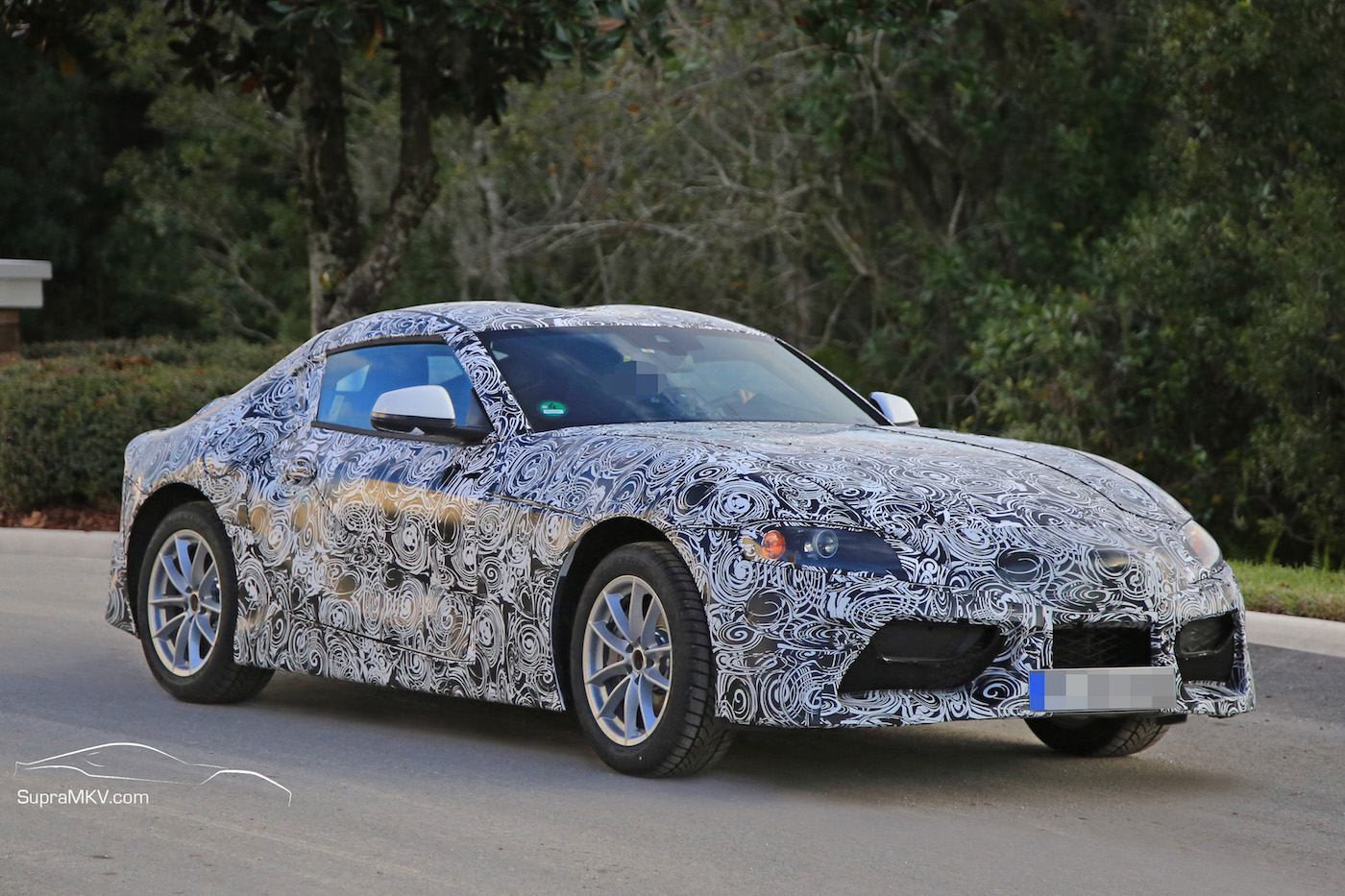 2018 2019 Toyota Supra Prototype Reveals Production Intent