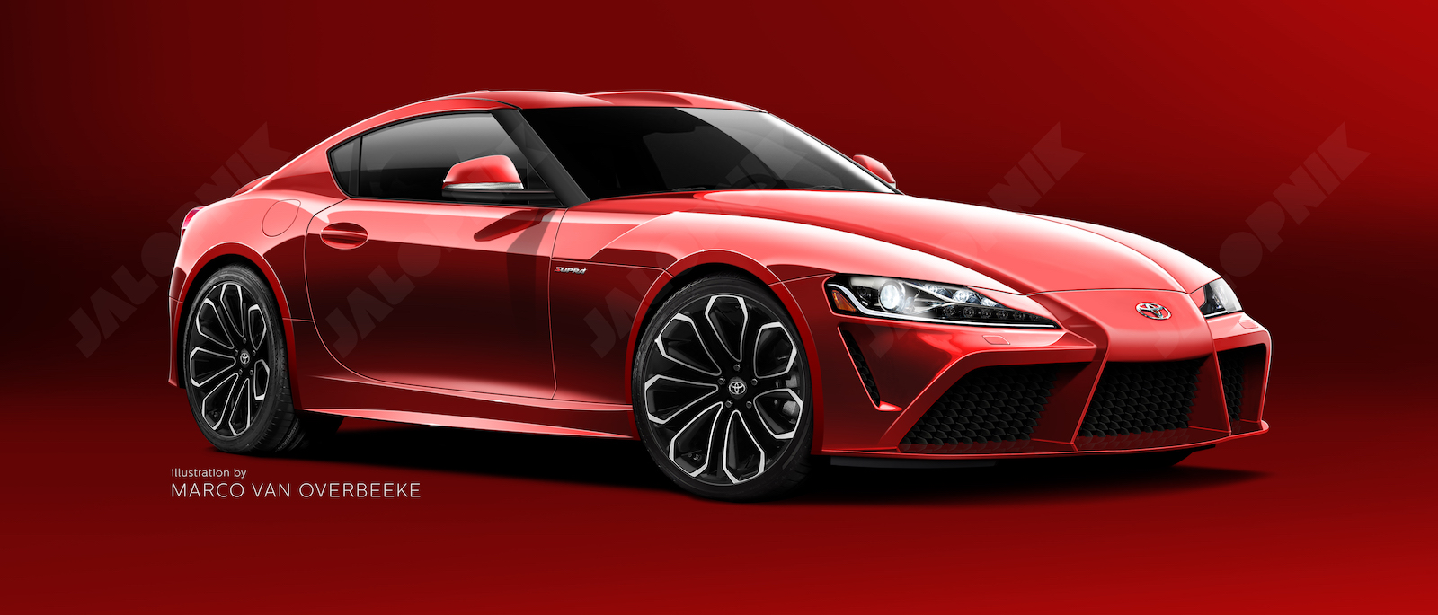 Jalopnik New Toyota Supra Rendering Based On Insider Info