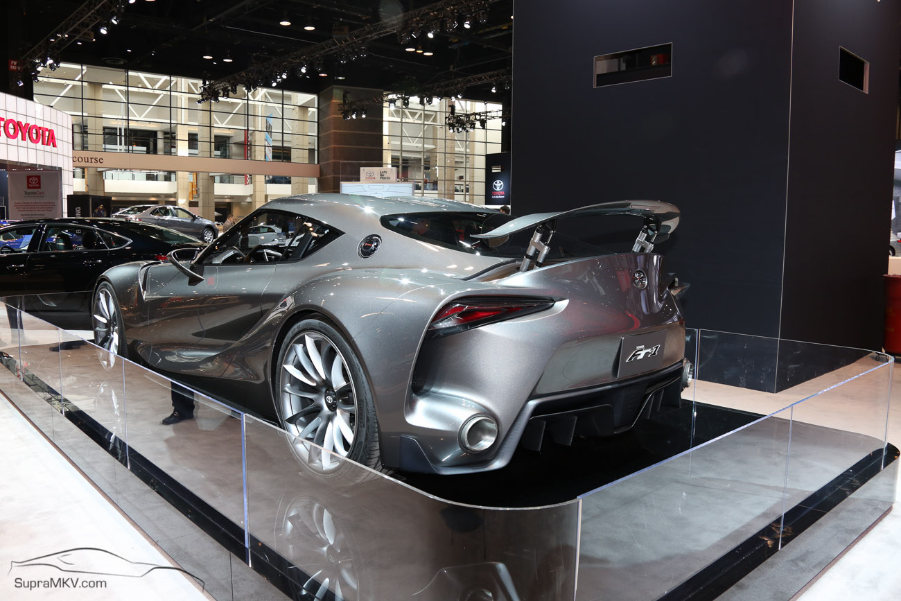 Toyota ft 1 concept at 2015 chicago auto show supramkv Motor vehicle chicago