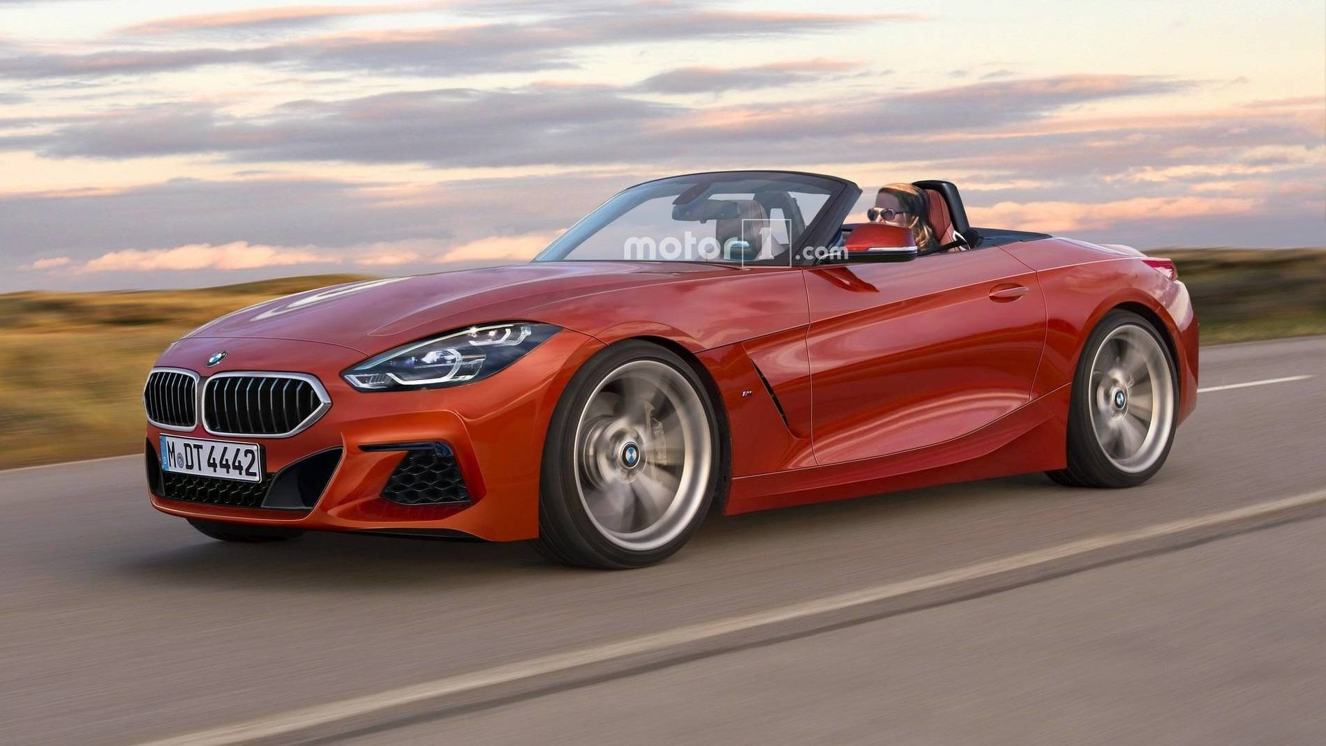 Production Ready Renderings Of The Toyota Supra Amp Bmw Z4