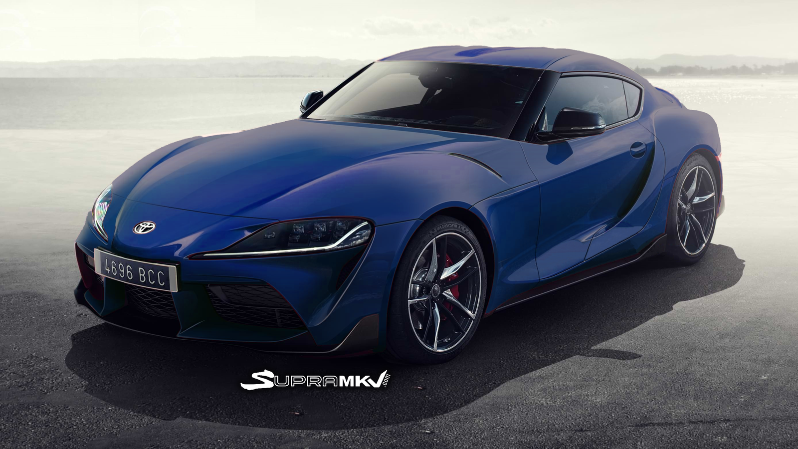 New Toyota Supra Renderings Based On Prototype Car