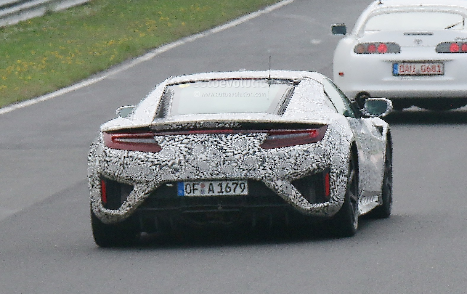 First 2017 Supra Mule Spied at the Ring? | 2018 2019 Toyota Supra ...