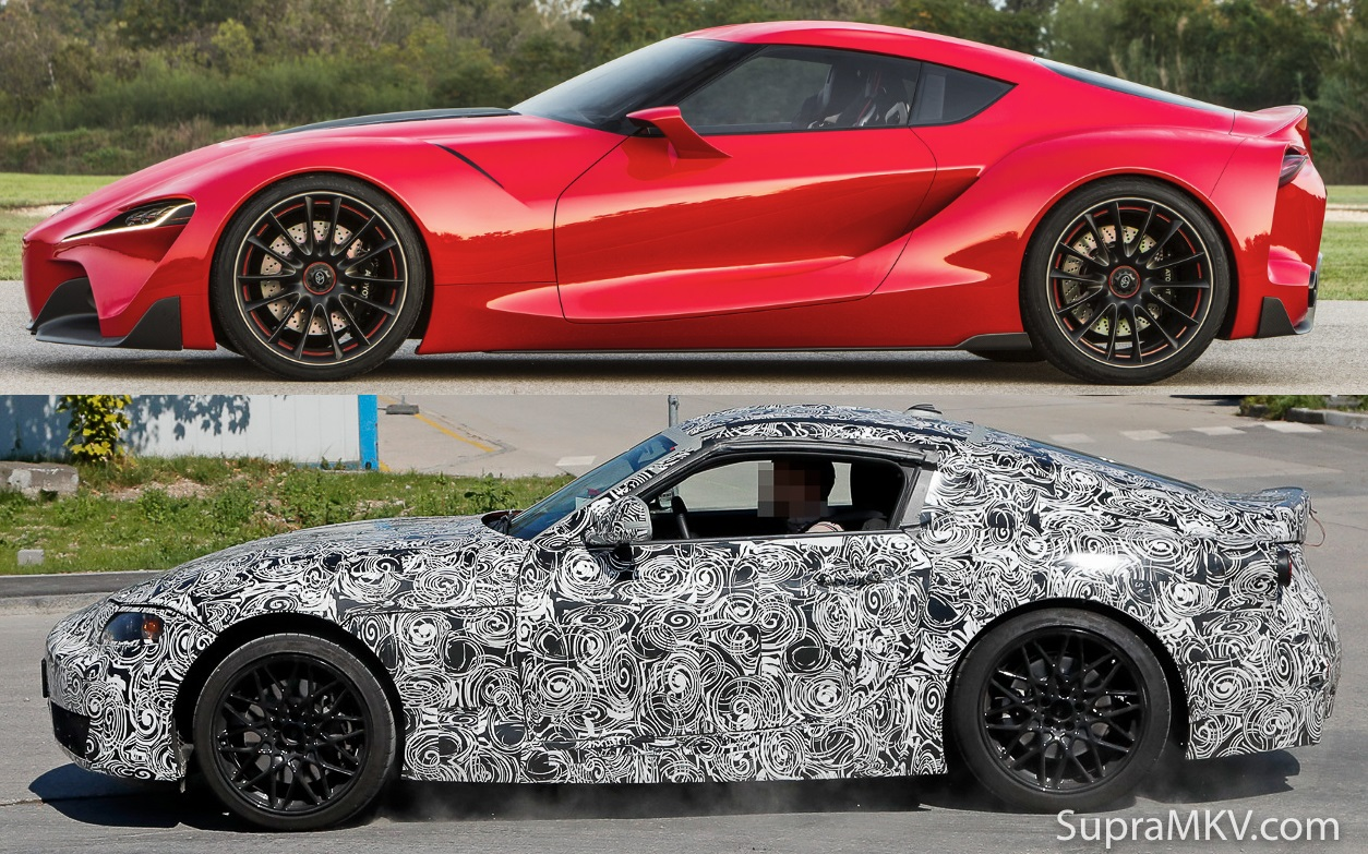 First Mkv Supra Prototype Spotted In Testing Corolla Rxi 20v Modified Cars Pictures Ft 1 Vs Test Mule