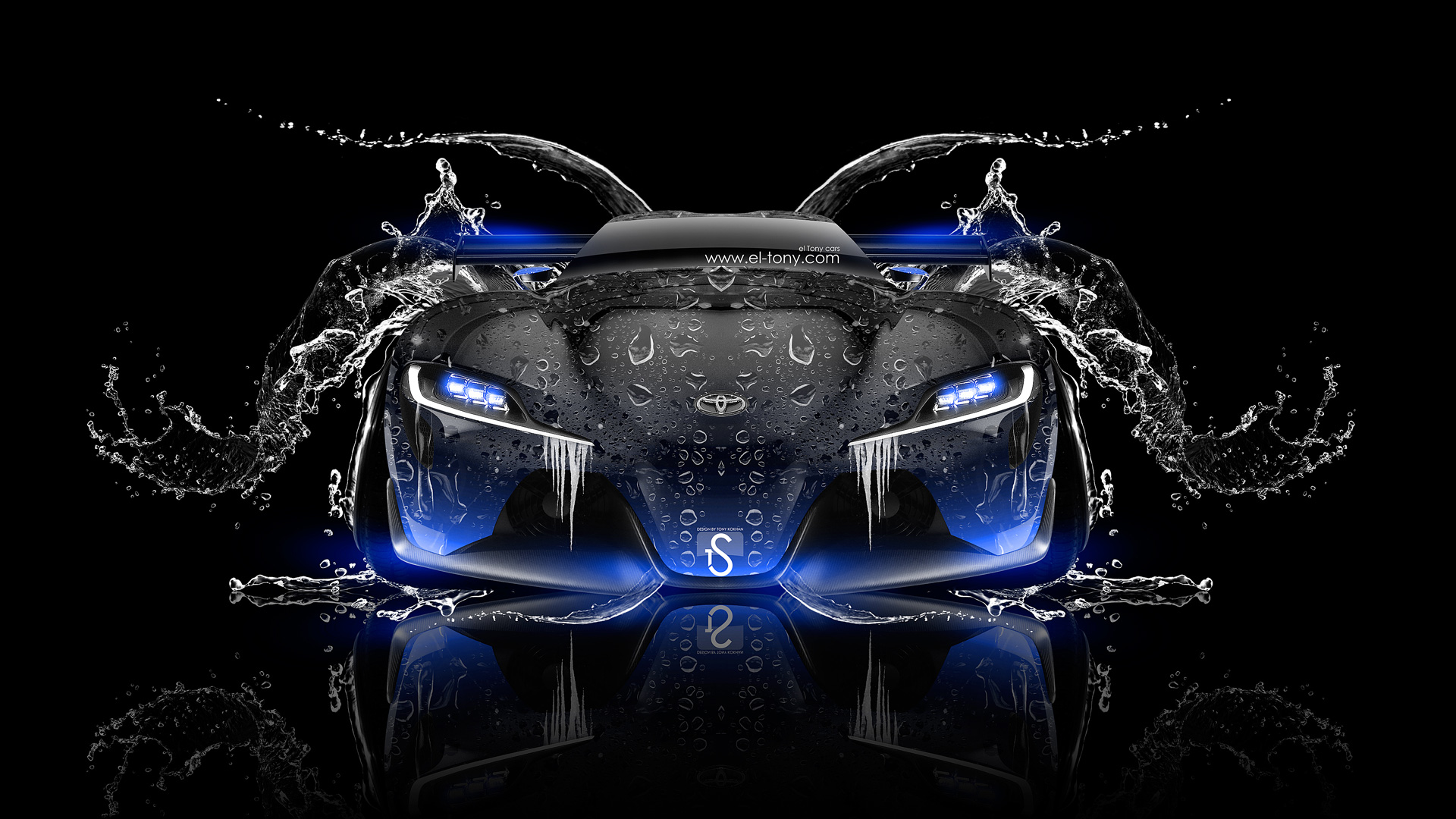 ... Toyota FT 1 Tuning Fron Water Car 2014  ...
