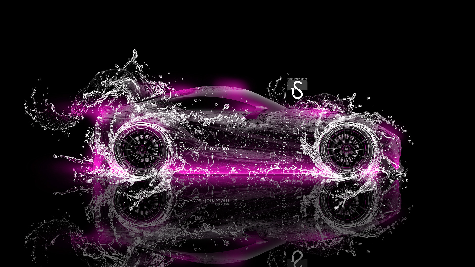 ... Toyota FT 1 Water Abstract Car 2014 Pink  ...