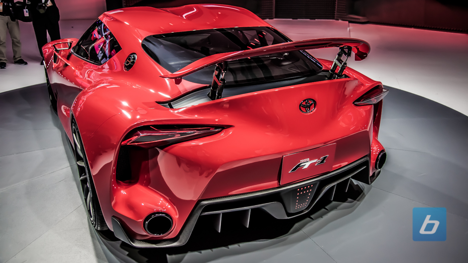 Red Toyota FT-1 Concept at Various Auto Shows & Events | SupraMKV ...
