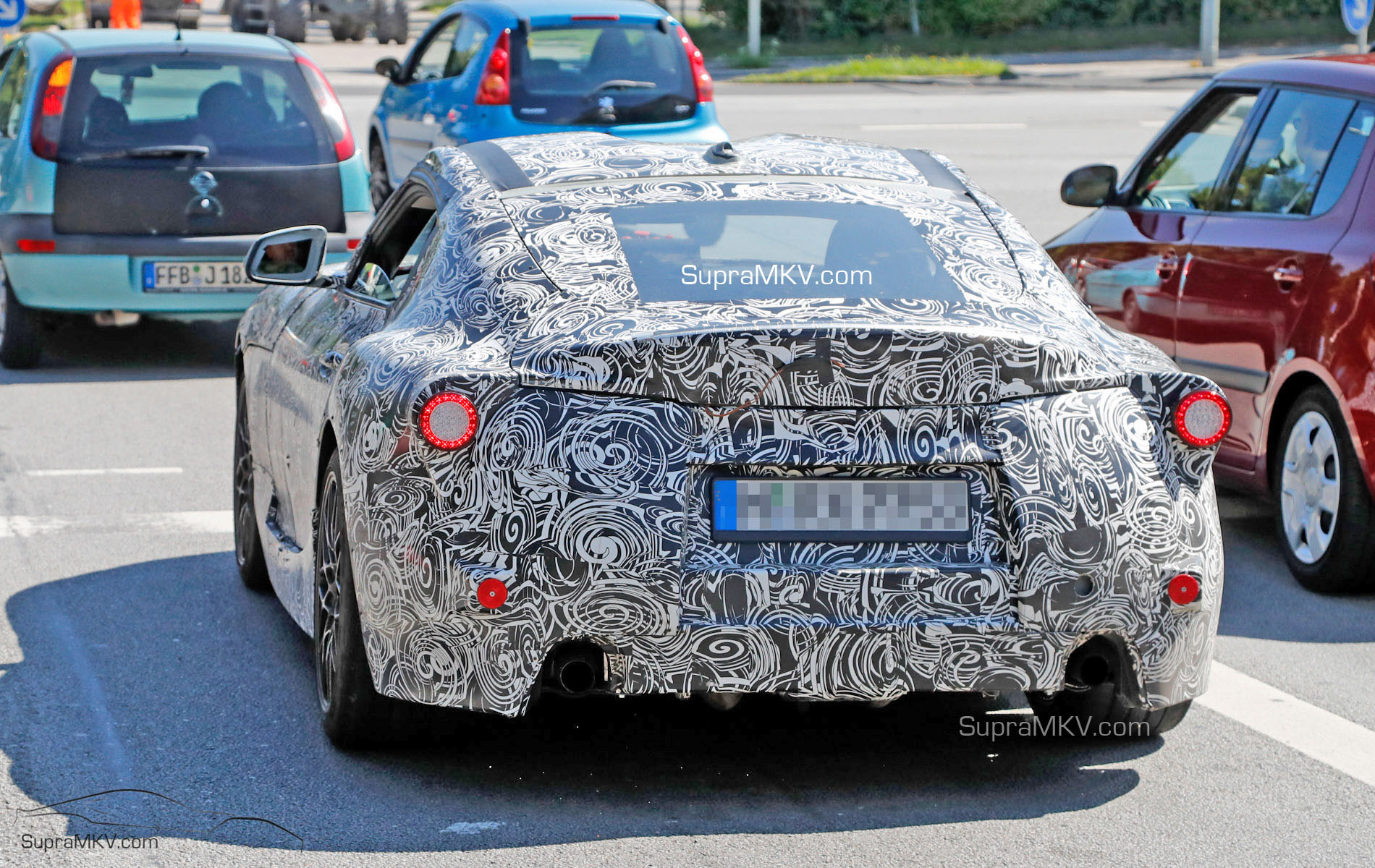 2018 2019 Toyota Supra First Prototype Spotted