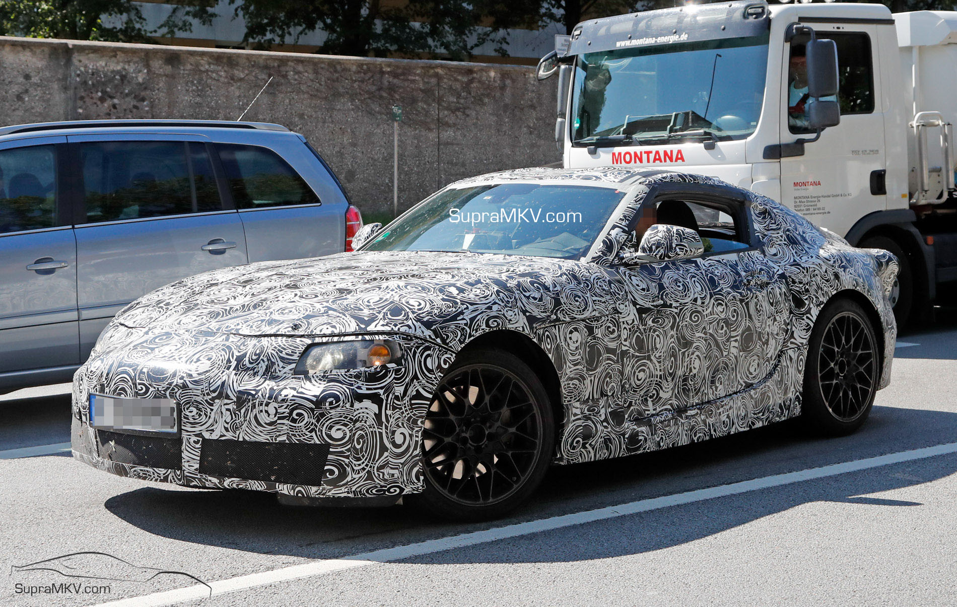 2019 Toyota Supra - First Prototype Spotted! Photos   Video Inside ... f4496973b63a