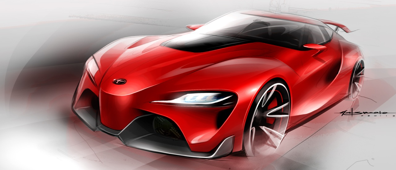 Ft 1 Toyota Sketches Supramkv 2020 Toyota Supra Forum
