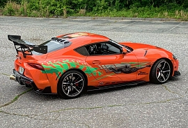 Fast and Furious Supra build