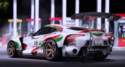 FT-1 Supra in Castrol livery