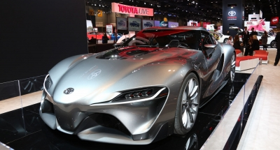 Chicago show visitors vote Toyota FT-1 as Best Concept Vehicle