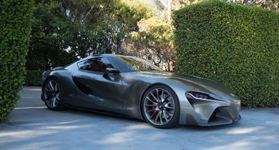 Automobile article on Supra FT-1