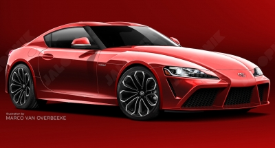 New Toyota Supra Rendering Based on Insider Info