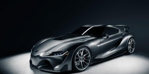 Graphite Toyota FT-1 Second Concept Coming to Pebble Beach
