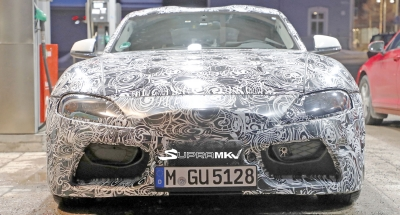 Spy Pics: Very Up Close and Personal With Toyota Supra Prototype