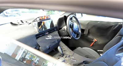Spied: Updated Toyota Supra Interior!