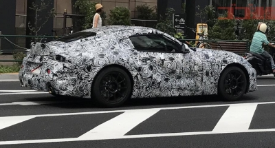 Supra Prototype Finally Spotted Publicly in Japan