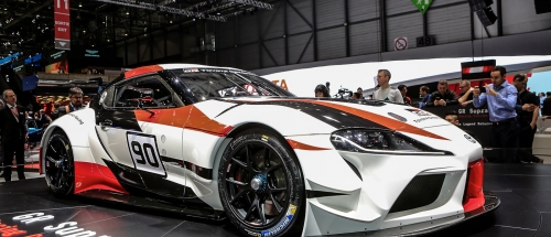 Our live pics GR Supra Racing pics from Geneva