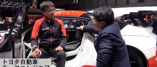 Interviews with Chief Engineer Tetsuya Tada about the Supra