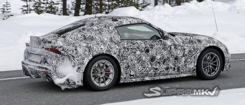 Most revealing 2019 Supra prototype spy pics yet! (Spotted March 19, 2018)