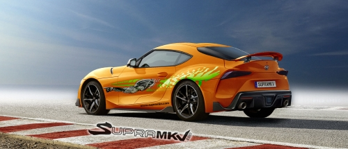 SupraMKV's Latest Toyota Supra Renderings