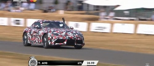 2020 Supra prototype at Goodwood Festival of Speed (photos/videos)