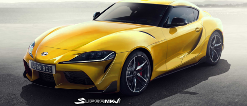 2019 Toyota Supra Rendered in Production Guise