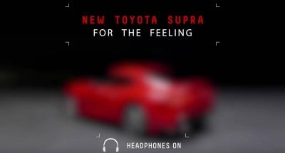 Toyota Teases the Sound of an Undisguised Supra