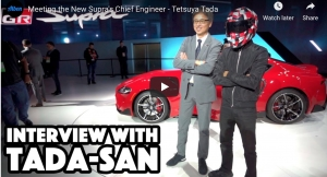 Our Detroit Coverage and Interview With Tada San, Supra's Chief Engineer