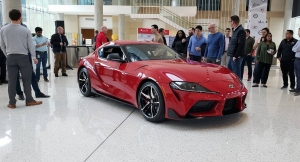 2020 Supra Drops in on Toyota HQ in Texas