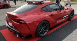 Toyota Supra Pace Car Unveiled
