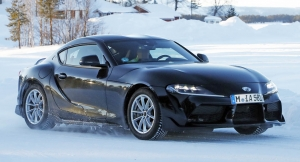 First Look at Black 2020 Supra A90