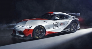 This is the Supra GT4 Concept!