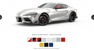 Color Lineup Preview Appears on Supra NA Website
