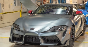 This Is The First Production 2020 Toyota GR Supra A90