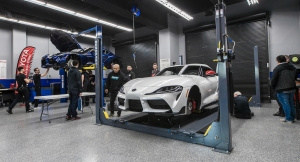 8 Things Learned About the 2020 Toyota Supra at SEMA Garage Measuring Session