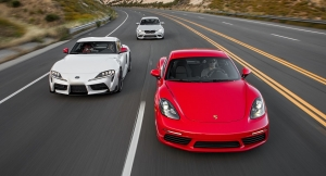 Motor Trend: Supra vs Cayman and M2 Competition Comparison Review