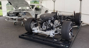 Supra Bare Chassis and Drivetrain