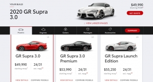Toyota Supra USA Website is Live