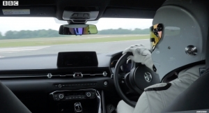 The Stig Laps the 2020 Supra on Top Gear Test Track