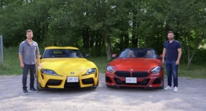 Throttle House: Supra vs Z4 M40i // Attack Of The Clones