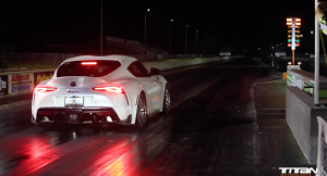 2020 Supra MKV Hits 10 Second 1/4 Mile - by Titan Motorsports